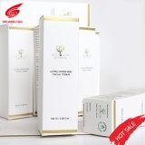 Custom Gold Sliver Stamping UV Spot Logo Printed Packing Paper Box