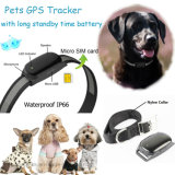 Mini Waterproof Pets GPS Tracker with Real Time Tracking (EV200)