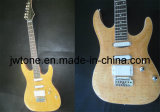 Quilted Maple Top Arched Top Electric Guitar