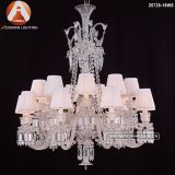 18 Light Baccarat Pendant Lamp Crystal Chandelier