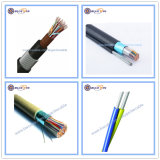 Telephone Communication Armoured 10 Pairs 2 100 5 20 25 30 50 120 200 300 Pair ADSS Aerial Drop Wire Underground Jelly Filled Telecommunication Signal D10 Cable