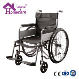 Lightweight Portable Handicapped Steel Wheelchair for Disabled (ME1) with ISO Certificate
