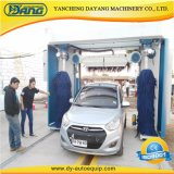 China Rollover Automatic Car Wash Machine with Brushes Dryer Blowers/Mobile Used Auto Washing Price