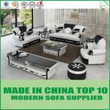 Hotel Furniture Modern Divani Living Room Leather Sectional Sofa