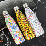 Stainless Steel Heat Water Bottle Keep Warm and Cold Coffee
