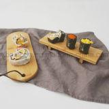 Sushi Bamboo Service Tray -Bamboo Sushi Plate