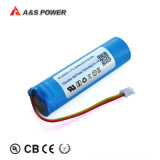 Factory Rechargeable Li-ion 18650 Battery Pack 3.7V 2600mAh for Power Tools/LED Light/Bluetooth Speakers