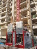 Construction Frequency Controlled Steplepless Speed-Adjusting Lift Sc200 Fast Lifting Spe