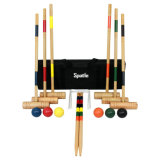 Factory High Quality Wooden Croquet Set