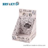 Custom Printed Corrugated Cardboard Portable Countertop Shelve/Stand/Shelf Box Paper Display