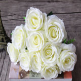 Factory Wholesale Silk Artificial Flowers for Wedding Wall Decoration Flowers