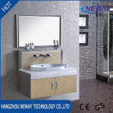 High Quality Mirror Steel Classic Bathroom Cabinet Furniture