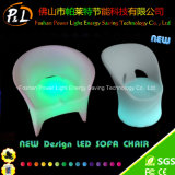 Light up Club Bar Outdoor Plastic LED Leisure Sofa Chair