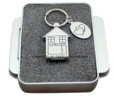 Metal USB Flash Disk House Shape