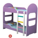 Kids Bed (QQ12146-5)