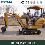 Xe15 Mini Digger Backhoe for Sale Small Size Excavator