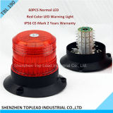 LED Red Color Warning Light, 12V-24V LED Strobe Warning Light