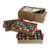 3-Tray Holiday Ornament Storage Box