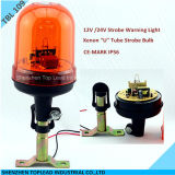 Xenon Strobe Warning Light, U Tube 12V Strobe Warning Lights