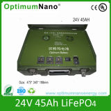 Rechargeable 24V 45ah Military Battery