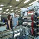 Three Calender Plastic Sheet / Board Extrusion Line (HSD)
