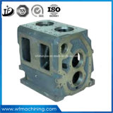OEM Wholesale Custom Iron/Steel Gearbox Housing/Body Sand Casting with Painting