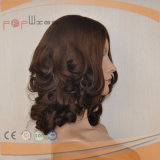 Human Hair Wavy Silk Top Wig (PPG-l-0472)