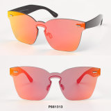 New Fashion Women Sunglasses with One Piece Lens