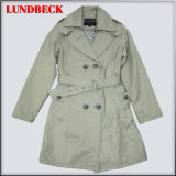 New Arrived Long Wind Jacket for Women Outerwear