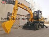 Baoding 8.5ton Wheel Hydraulic Excavator