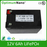 LiFePO4 Battery Pack 12V 6ah for Electric Scooters