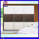 Easy Soft Design Sliding Door Wardrobe (ZH081)