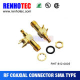 SMA Female PCB Type RF Coaxial Connector