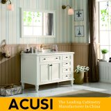 Wholesale American Simple Style Solid Wood Bathroom Sanitary Ware Cabinet (ACS1-W39)
