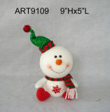 "9""Hx5""L Yarn Ball Body Snowman-Christmas Decoration"