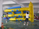 PVC Inflatable Floating Island Row Water Games for Sale
