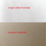 Inkjet Pure Cotton Canvas Matte Brownish Backside Art Canvas
