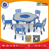 2017 New Design High Quality Classroom Furniture Kids Plastic Table