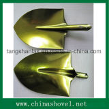 Shovel Golden Color Railway Steel Shovel Spade