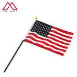 United States 10X15cm Polyester American USA Hand Waving Country Flag