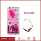 3D Ice Cream with Sprinkles Glitter Quicksand Clear TPU Cover