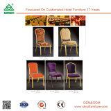 Multi Color Newest Fashion Wood Leg Dining Chair for Diningroom