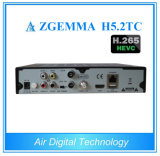 Bcm 73625 Zgemma H5.2tc Satellite Set Top Box DVB-S2+ 2X DVB-T2/C H. 265 IPTV Receiver