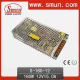 Smun 180W Single Output AC/DC Switching Power Supply with CE RoHS and 2 Years Warranty
