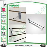 Wire Slat Wall Euro Hooks with Price Tags in Same Line