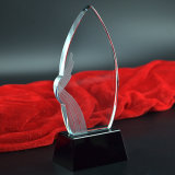 Customized Crystal Blank Trophy Awards 3D Design