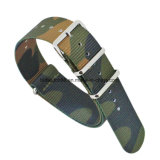 Custom Logo Camo Nylon Nato Watch Band Hot Selling