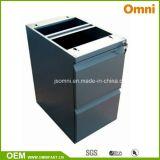 Mobile Pedestal Cabinet; Two Drawers Steel Storage (OMNI-FC-14)