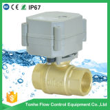 "Dn20 3/4"" Brass 5V Electric Operated Motorized Motorised Ball Valve"