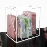 Acrylic Clear Face Mask Storage Box